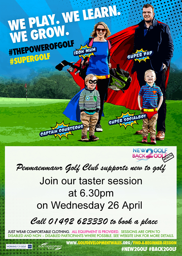 New2Golf, come and try Golf out,